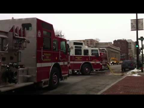 Raw video: Fire department called to the Journal Sentinel
