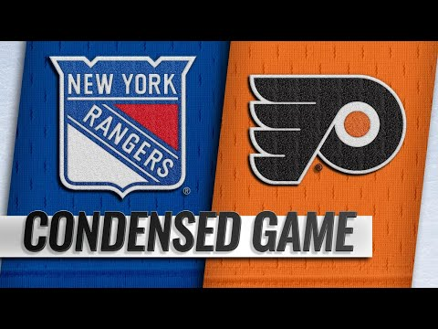 09/27/18 Condensed Game: Rangers @ Flyers
