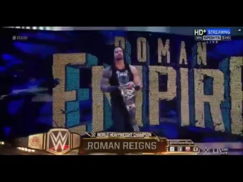 Roman Reigns Booed after WrestleMania 32