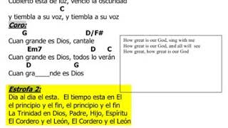 Cuan Grande Es Dios (Play-Along with Song Sheet)