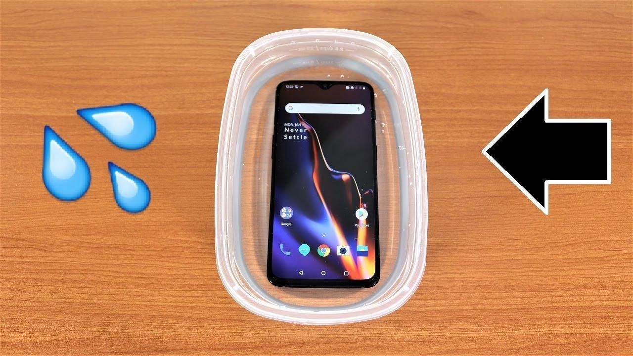 buy popular efbdd ef769 OnePlus 6T Water Test - Is It Water Resistant?