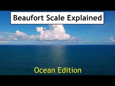 Beaufort Scale Explained | Ocean Edition