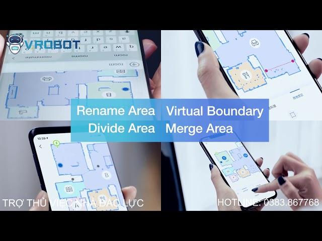 Robot hụi bụi lau nhà Ecovacs Deebot T8 AIVI - Hàng chính hãng 💯 | Giải pháp Nhà Thông Minh SALA