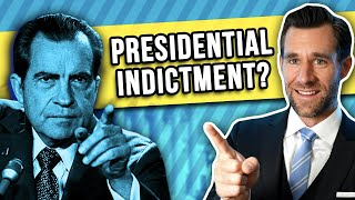 Lawsplainer: Can the President Be Indicted?