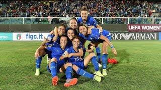 Highlights Italia-Bosnia Erzegovina 2-0 - Femminile (8 ottobre 2019)