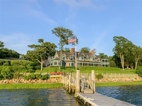 Magnificent Waterfront Estate in Shelter Island, New York