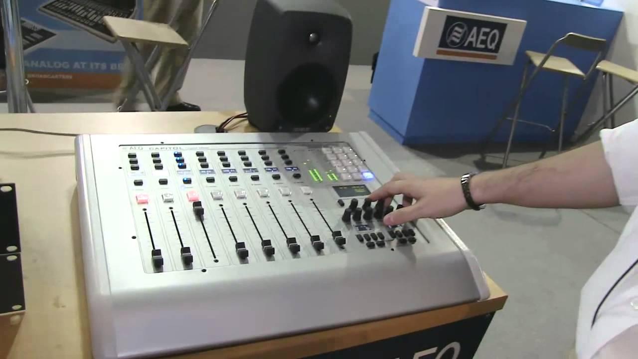 aeq capitol digital mixer manual