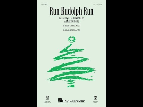 Run Rudolph Run (TTB) - Arranged by Alan Billingsley
