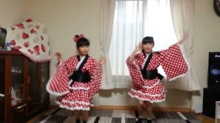 北海道のアイドル 【フルーティー】の振り付けを真似して踊ってみました.