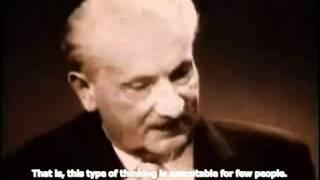 Heidegger On the Task of Thinking (English Subtitles) Thumbnail