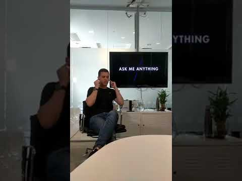 Omri Yoffe's 1st Ask Me Anything on Facebook Live