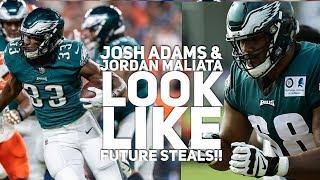 Josh Adams & Jordan Maliata Look Like Future Steals...That's Scary! 👀