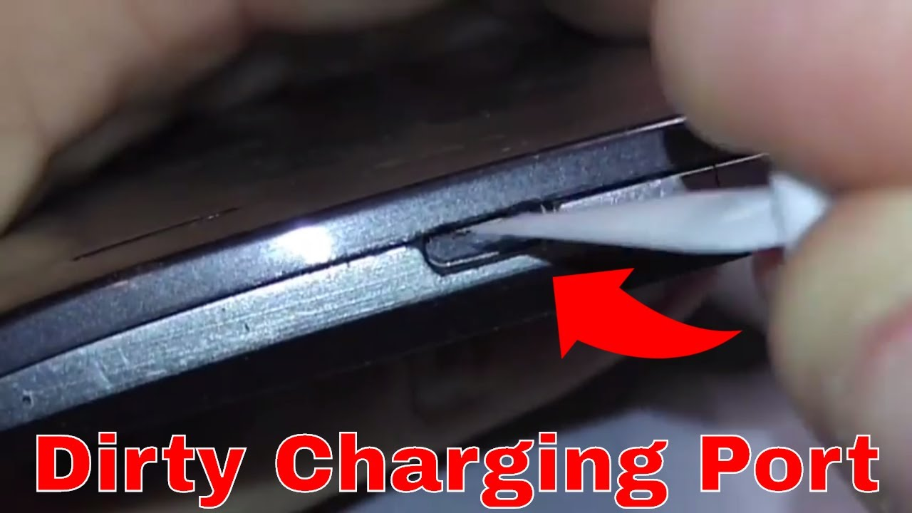 maxresdefault - How To Get Lint Out Of Usb C Port