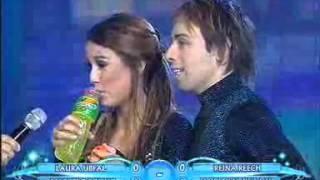 Showmatch 2007 - Puntaje ideal para Luli Fernández