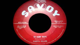Varetta Dillard - So Many Ways