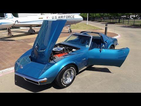 1972 Chevy Corvette 454 LS5 American Muscle Car USA Big Block Vette 4-speed C3 Stingray Sports Car