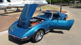 1972 chevy corvette 454 ls5 american muscle car usa big block vette 4 speed c3 stingray sports car