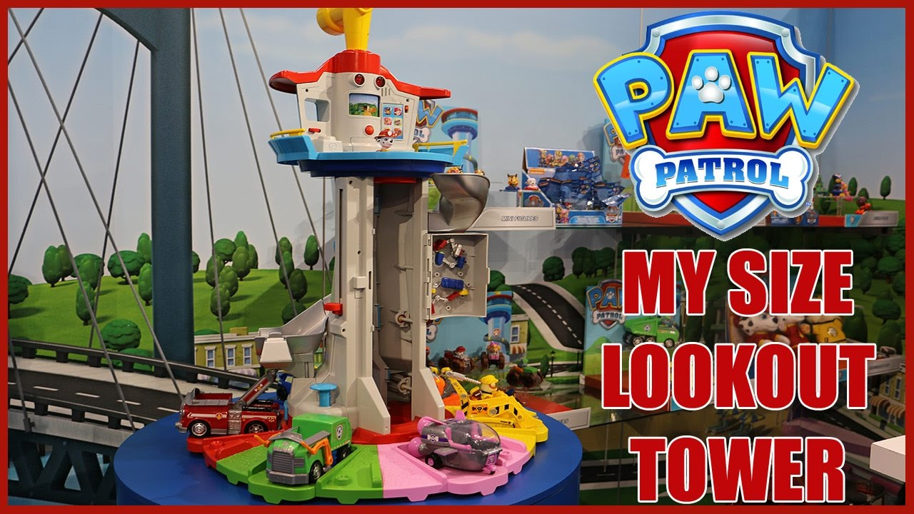 Image result for Paw Patrol My Size Lookout Tower
