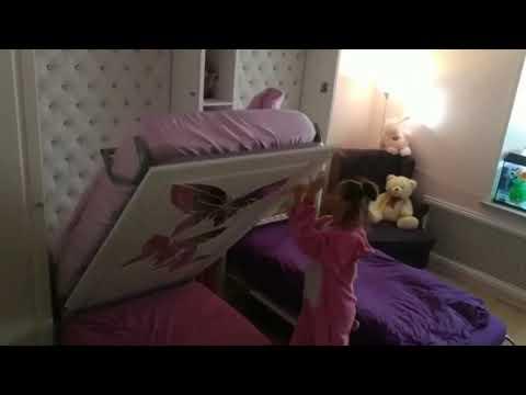 Детская с двумя кроватями трансформер