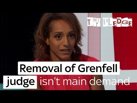 Removal of Grenfell Tower inquiry judge isn't survivors' main demand