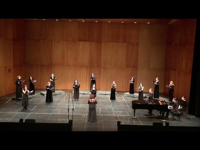 Dancing Day (1ª parte) John Rutter. VokalArs. Dir.: Nuria Fernández Herranz  Piano: Teresa Vilaplana