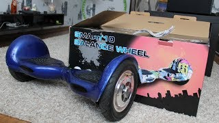 гироскутер на 10 колесах за 4000 рублей. Обзор smart10 balance wheel.