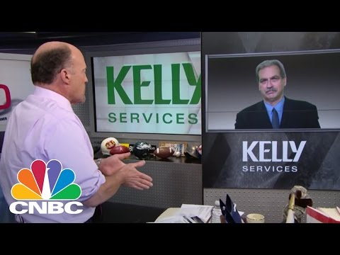 Temporary Pain? Kelly Services CEO   Mad Money   CNBC