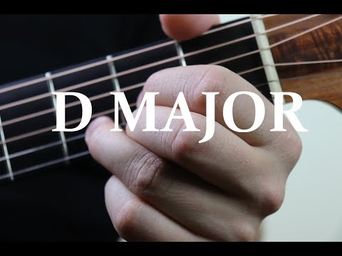 D chord guitar finger position