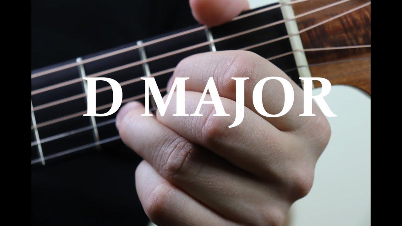 D Chord Guitar Finger Position Youtube