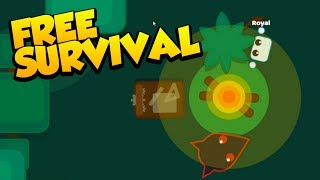 NEW FREE BROWSER SURVIVAL - MY FAVORITE ONE YET - Starve.io Gameplay #1