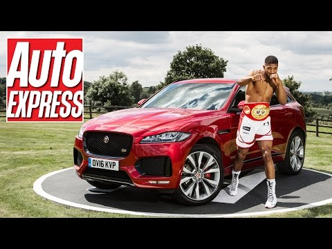 Anthony Joshua interview: dream cars, boxing and the Jaguar F-Pace