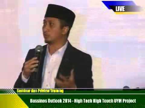 VSI Business Outlook 2014 - Ustad Yusuf Mansur - Bandung 8 Maret 2014 part 1