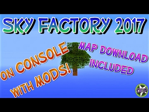minecraft sky factory 3 map download