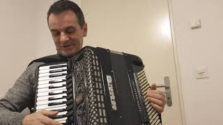Eso Balic- svijet ucenja sviranja harmonike. Sve behara i sve cvijeta -Safet Isovic -usporeno