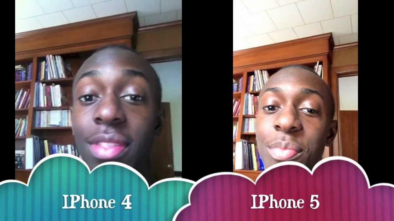 IPhone 4 VS 5 Camera Comparison
