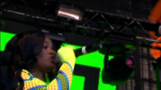 Azealia Banks - 'BBD' & 'ATM JAM' (Live @ at T in The Park 2013)