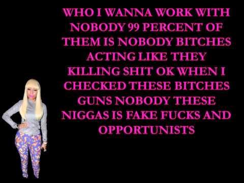 Nicki Minaj- Freedom Lyrics