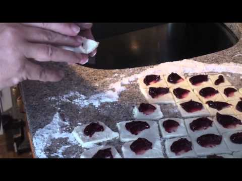 How to make Kolachky the Polish Cookie