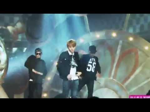 131214 YONG JUNHYUNG - BEAST - FLOWER live HD Music Core