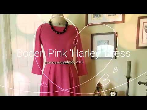 """Boden Pink """"Harley"""" Dress"""