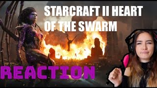 """Starcraft 2: """"Heart of the Swarm"""" Cinematic Reaction!"""