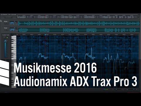 Audionamix ADX Trax Pro 3 - Musikmesse 2016