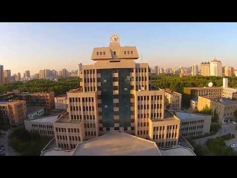 [ 航拍 + 延时 ] 交大我爱你 [ Aerial + Time-lapse ] Xi'an Jiaotong University, I love you.