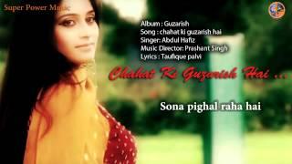 Chahat ki Guzarish Hai Lyrics II चाहत की गुजारीश IISinger: Abdul Hafiz