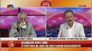 22/06/2018 SEÇİM 2018 - YENER YILDIRIM / İYİ PARTİ ORDU MV. ADAYI