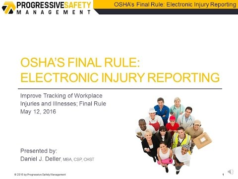 OSHA's New Electronic Reporting Requirements