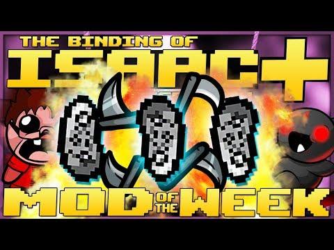 The Binding of Isaac: Afterbirth+ - Mod of the Week: TURN ANY TEAR INTO AN ORBITAL! (+RAINBOW GUN