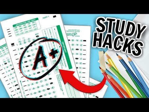 11 DIY Study hacks for BACK TO SCHOOL! Study Tips to Get Better Grades!!