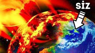 Güneş Dünyayı Düşündüğünüzden Daha Kısa Bir Zamanda Yok Edebilir