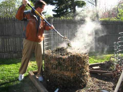 Steaming pile ofcompost  YouTube